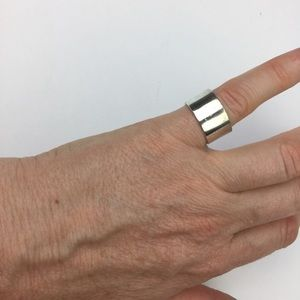 sterling silver Jewelry - 3/$20💛 sterling silver wide flat band ring